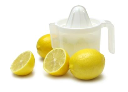 Lemon is a Natural Substitute for Bleach